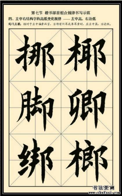 字偏旁、部首、笔画组合与字根有什么区别?   ,如:坐、乘、巫