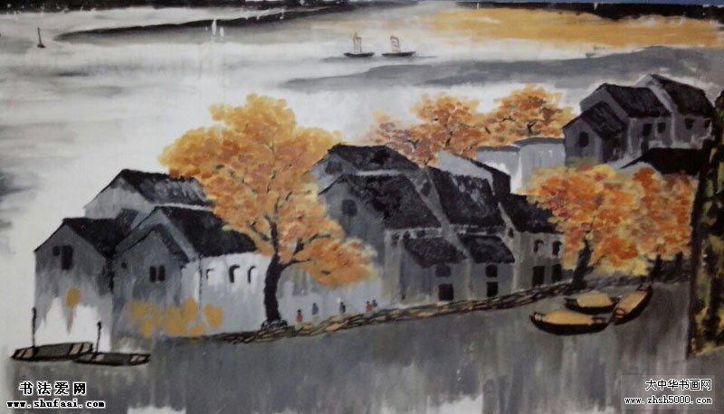 袁国清  油画