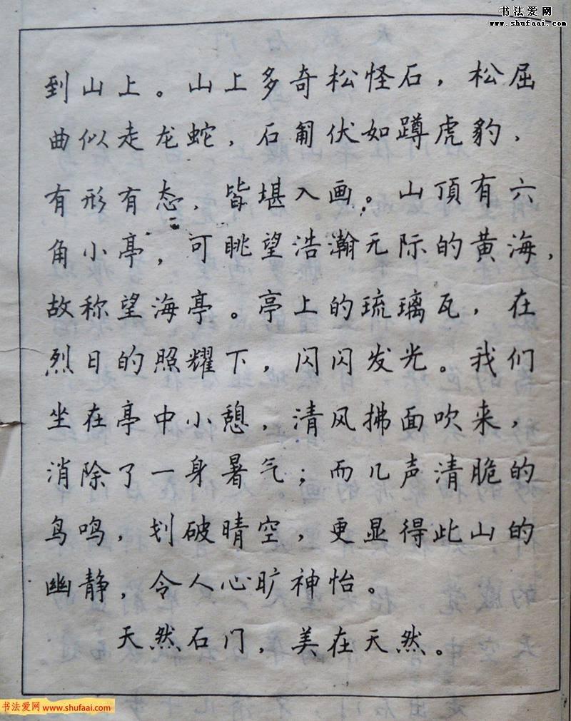 沈鸿根楷书行书草书三体钢笔习字帖(3)图片