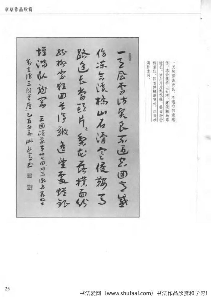 章草作品欣赏2