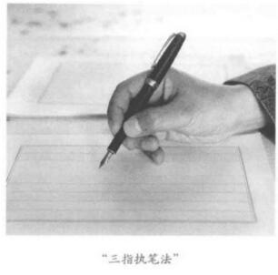三指执笔法