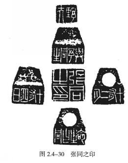 """""""张同之""""六面印(图2.4-30)"""