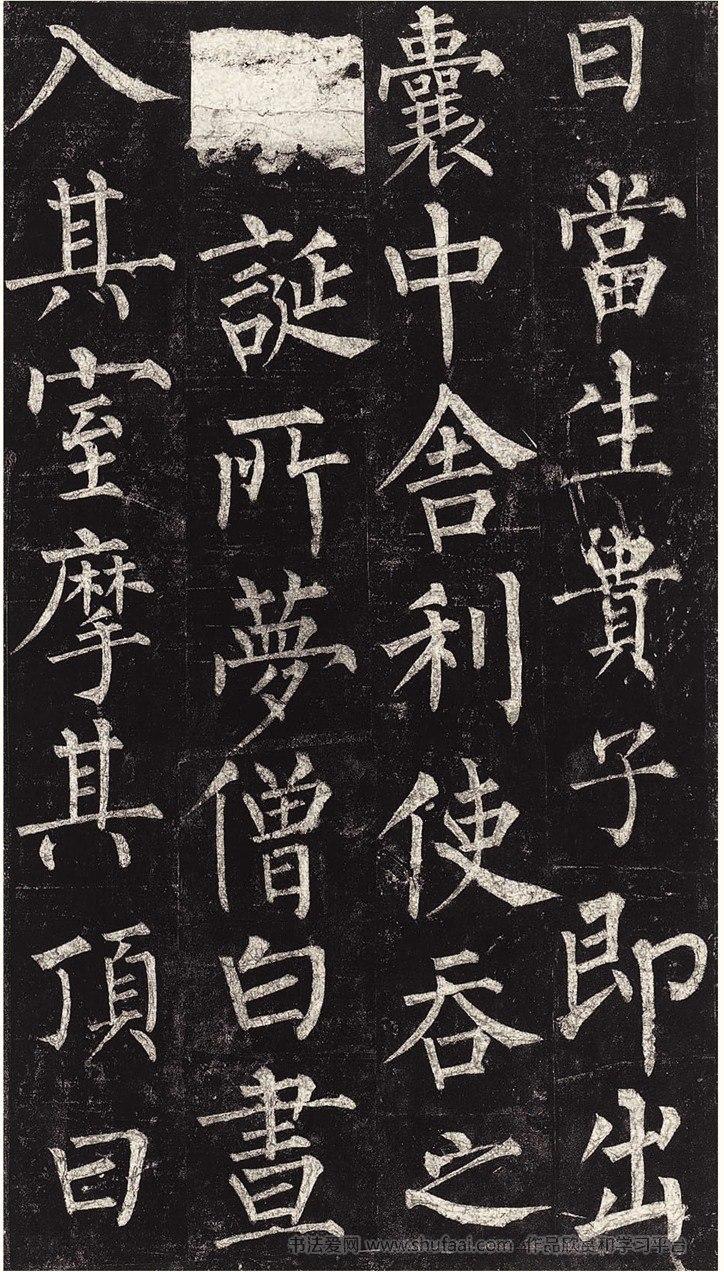 中国历代名碑名帖精选·柳公权玄秘塔碑 第【9】张